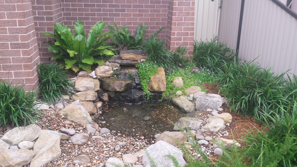 Natural Looking Water Features