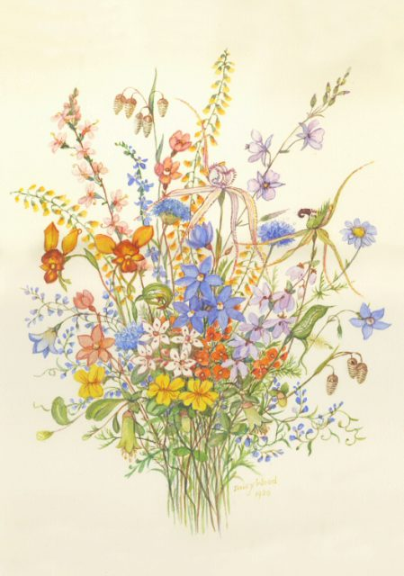 Great Ocean Road wildflower bunch by Daisy Wood