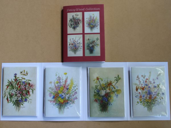 Daisy Wood wildflower painting cards