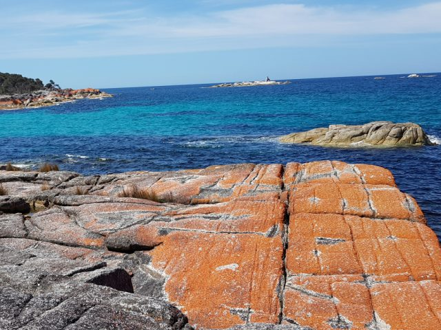 Bay of Fires coloured rocks