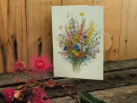 Victorian High Country Wildflower card