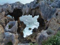 West Australian coast limestone formations